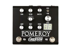 Emerson Custom Pomeroy Boost, Overdrive & Distortion - Black Clearance