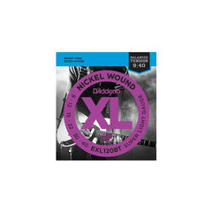D'Addario EXL120BT Balanced Tension Electric Guitar Strings Super Light Gauge 9-40 Clearance