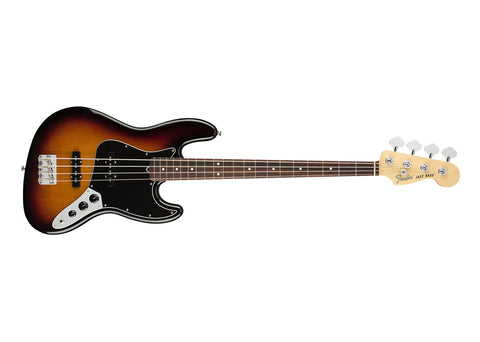 Fender American Performer Jazz Bass Guitar Rosewood/3-Color Sunburst - 0198610300