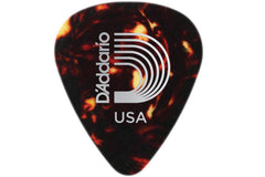 D'Addario 1CSH4 Classic Shell Celluloid Medium Gauge .70mm Picks - 10 Pack Clearance