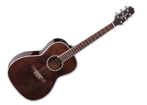 Takamine New Yorker CT-4BII Limited Edition Electronics AE Guitar w/case Gloss Molasses finish - CP3NY-ML