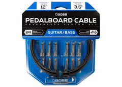 Boss Solderless Pedalboard Cable Kit - 12 Feet