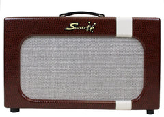 Swart Amplifiers Mod 84 Combo Amplifier - Alligator Ostrich Stripe Creamback DEMO