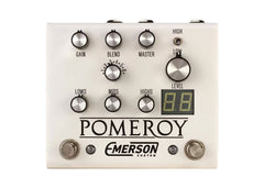Emerson Custom Pomeroy Boost, Overdrive & Distortion - White Clearance