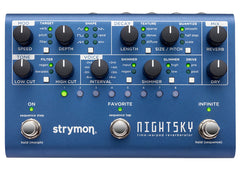 Strymon Night Sky Multi-Reverb Pedal