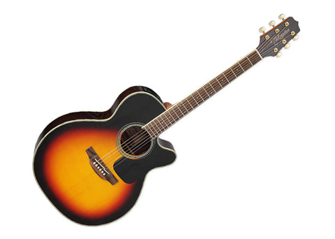 Takamine Guitars NEX Acoustic Guitar - Laurel/Brown Sunburst Finish - GN51CE BSB