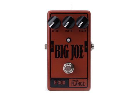 Big Joe Stomp Box Company B-306 Analog Flange Demo