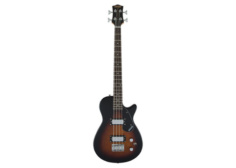 Gretsch G2220 Junior Jet Bass II Short Scale Bass Guitar - Black Walnut/Tobacco Sunburst - 2514730552