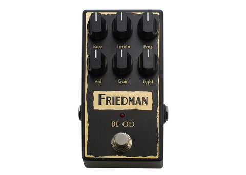 Friedman Amplification BE-OD Overdrive Demo