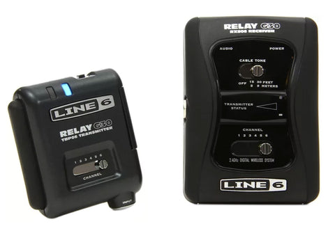 Line 6 Relay G30 6 Channel Digitial Guitar Wireless System w/Receiver
