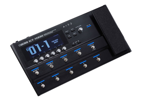 boss gt 1000 guitar effects processor prymaxe. Black Bedroom Furniture Sets. Home Design Ideas