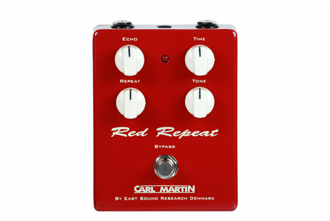 Carl Martin Vintage Series Red Repeat V2 Delay Demo