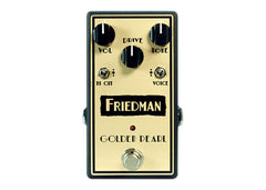 Friedman Amplification Golden Pearl Overdrive