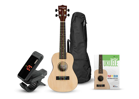 Tanglewood Learn to Play Bundle Ukulele - Natural - TU101NAK