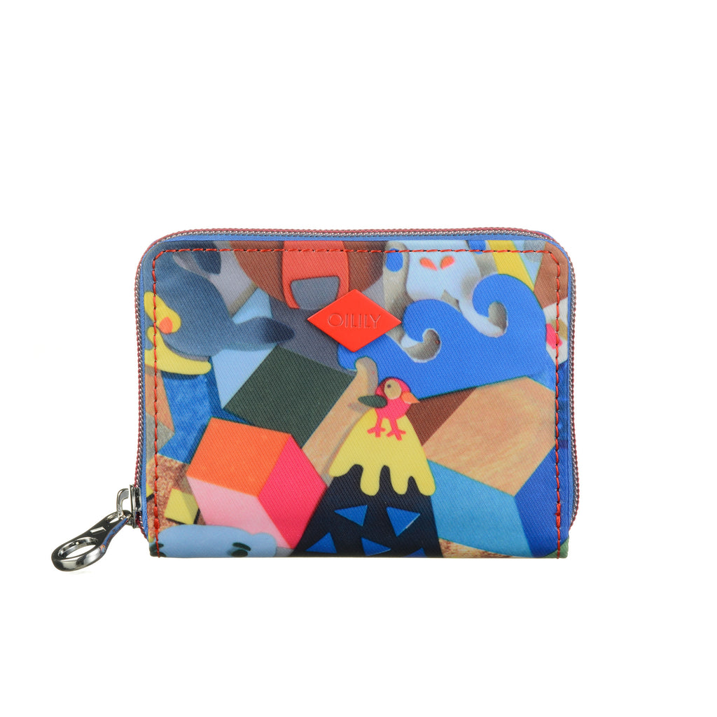 Oilily Paper Pop Multicolour Wallet