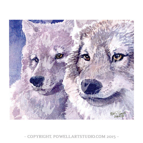 044P - Keith Powell's / Two Wolves