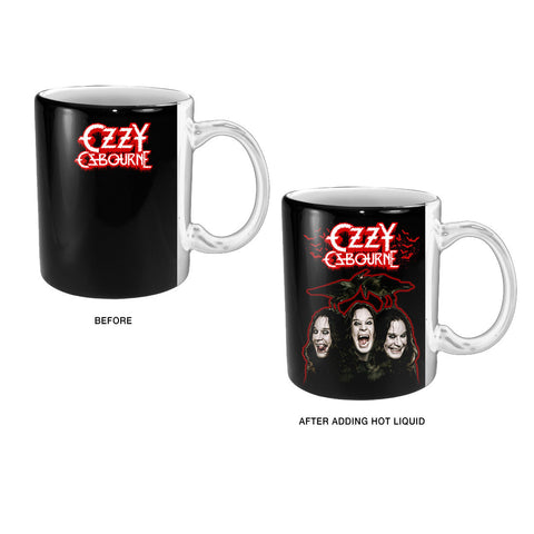Ozzy Crows and Bats Heat Reveal Mug