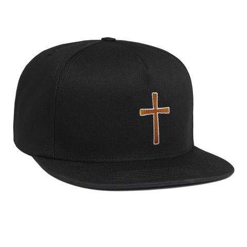 Ozzy Osbourne Cross Black Snapback Hat
