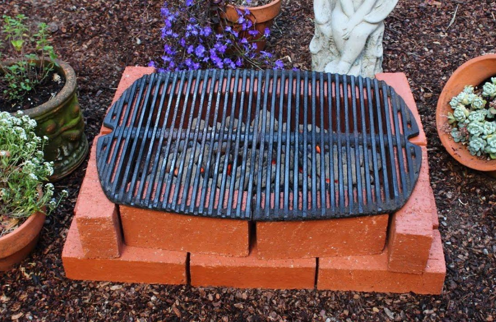 Build Barbeque Grill At Home