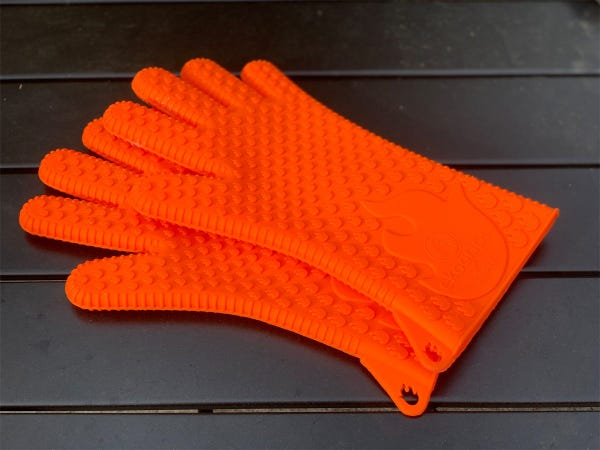 How to clean grill gloves