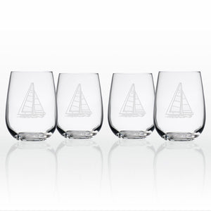Rolf Glass Sailboat