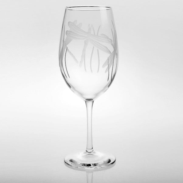 Dragonfly All Purpose Wine Glass 18oz (Set of 4)