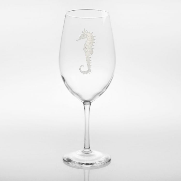 Seahorse All Purpose Wine Glass 18oz (Set of 4)