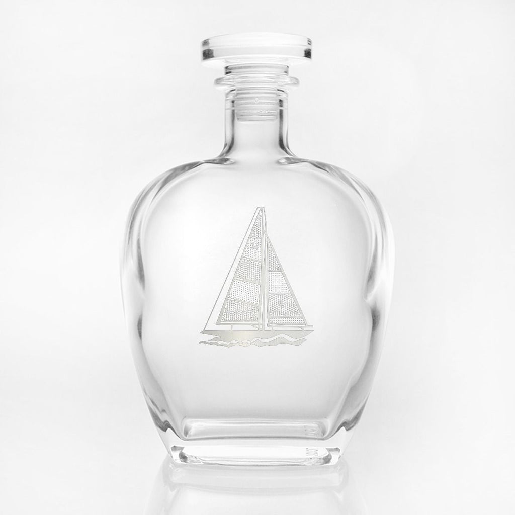 Sailboat Whiskey Decanter 23oz