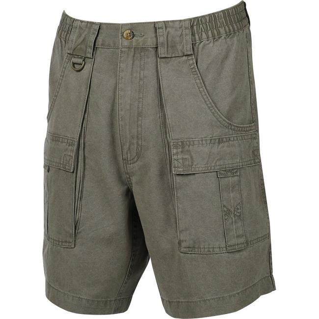 Mens Beer Can Island® Cargo Short Khaki