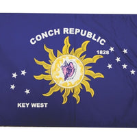 "Conch Republic Flag 12""x18"""