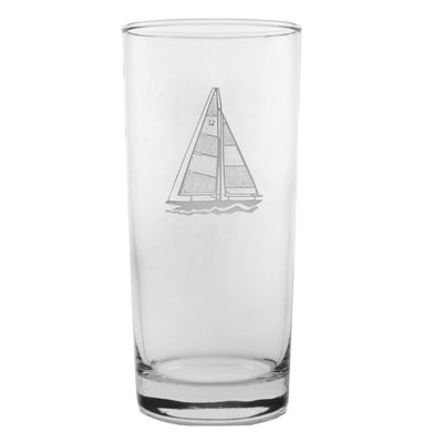 Sailboat Cooler Highball 15oz (Set of 4)