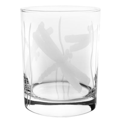 Dragonfly Double Old Fashioned 14oz (Set of 4)