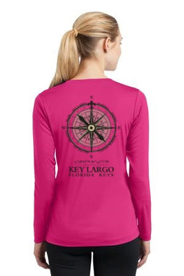 Compass Performance Ladies V-Neck Shirt
