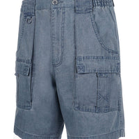 Mens Beer Can Island® Cargo Short Marine Blue