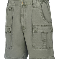 Mens Beer Can Island® Cargo Short Olive