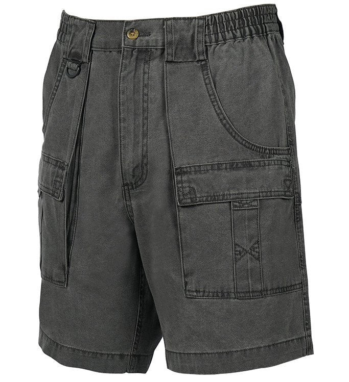 Mens Beer Can Island® Cargo Short Storm Grey