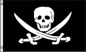 Pirate Jack Rackham Flag 3x5ft
