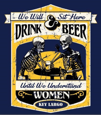 Sit Here & Drink Beer T-Shirt