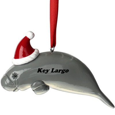 Key Largo Manatee Ornament