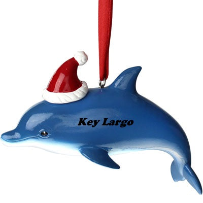 Key Largo Dolphin Ornament