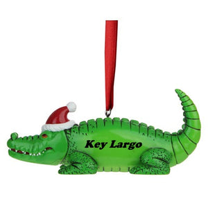 Key Largo Gator Ornament