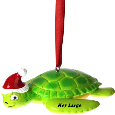 Key Largo Turtle Ornament