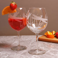 Dragonfly Red Wine Balloon Glass 18oz (Set of 4)