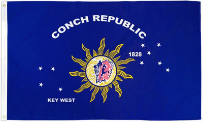 Conch Republic Flag 3x5ft