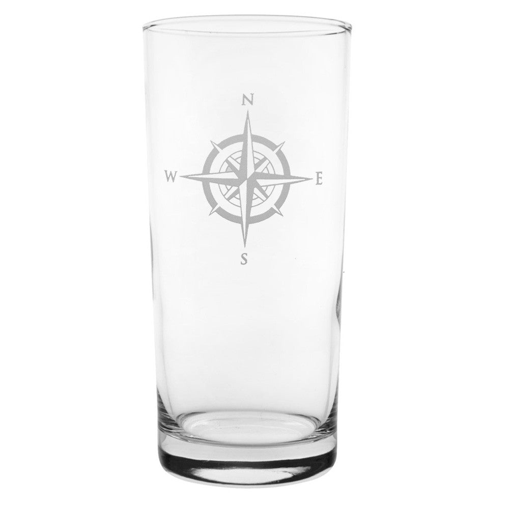 Compass Rose Cooler 15oz (Set of 4)