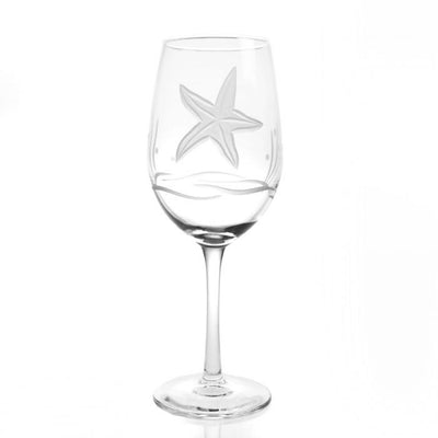 Starfish White Wine Glass 12oz (Set of 4)
