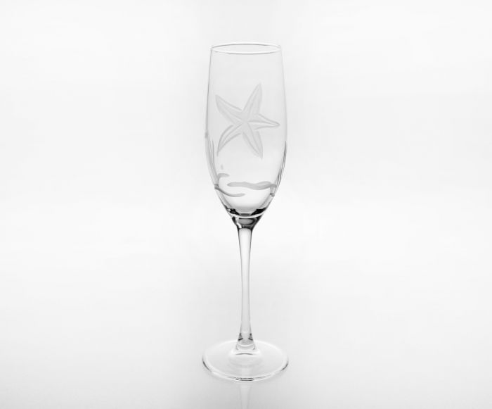 Starfish Champagne Flute 8oz (Set of 4)
