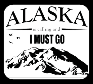 Alaska Is Calling - I Must Go | Decal (Special)