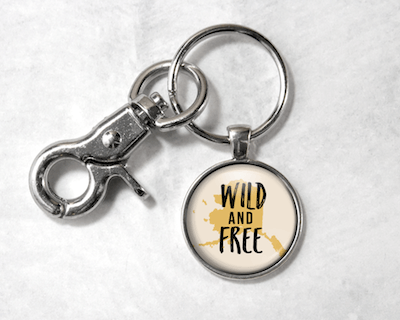 Wild & Free | Cream Background