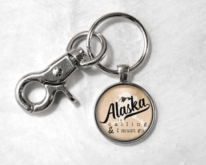 Alaska Is Calling | Tan Background